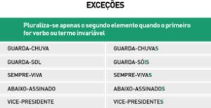 Resumo de português - Exceções