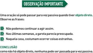 Resumo de Português - Observação