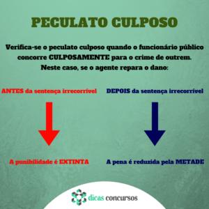 PECULATO CULPOSO - Direito Penal TJ-SP