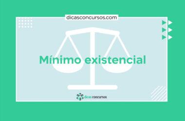 Mínimo Existencial