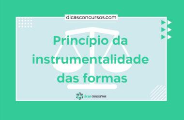 Princípio da instrumentalidade das formas