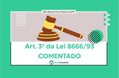 Art. 3 da Lei 8666/93 [COMENTADO]