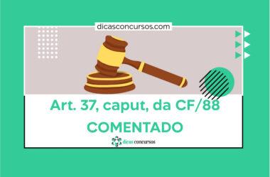 Art. 37 da CF/88 [COMENTADO]