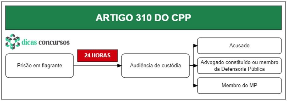 Art 310 do CPP - Comentado